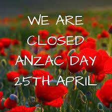 Anzac Closure